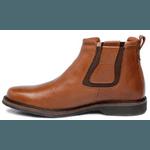 Botina Anatômica Top Franca Shoes Floter Conhaque