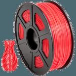 Filamento- ABS 1.75mm 1kg - Vermelho