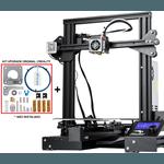 Impressora 3D Creality Ender 3 Pro 32 Bits + Kit Upgrade Original