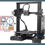 Impressora 3D Creality Ender 3 Placa 32 Bits + Kit Upgrade Original