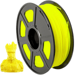 Filamento PLA+ 1.75mm 1kg - Amarelo