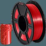 Filamento PLA+ Silk 1.75mm 1kg - Vermelho