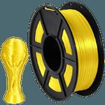 Filamento PLA Silk+ 1.75mm 1kg - Amarelo