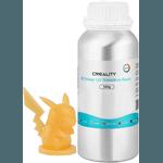 Resina UV Standard Creality - Impressoras 3D LCD/DLP - 405nm - Amarela -500g
