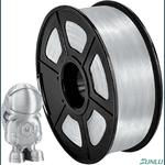 Filamento Pla Silk 1.75mm 1Kg - Silver