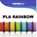 Filamento PLA Rainbow 1.75mm 1Kg