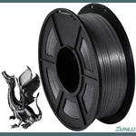 Filamento PLA+ Silk 1.75mm 1Kg - Preto