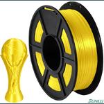 Filamento PLA Silk 1.75mm 1kg - Amarelo