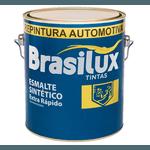 ESMALTE SINTÉTICO EXTRA RÁPIDO PRETO FOSCO VINILICO 900ML C/CAT BRASILUX