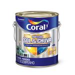 TINTA ACRÍLICA PROTEÇÃO SOL & CHUVA TOTAL FOSCO 3,6L CORAL