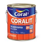 ESMALTE SINTETICO CORALIT BRILHANTE TODAS AS CORES 3,6L CORAL