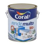 TINTA ACRILICA CORAL RENDE MUITO TODAS AS CORES 3,6L