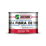 MASSA POLIESTER COM FIBRA 750 GRS MAXI RUBBER