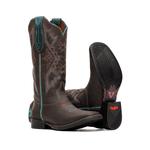 Bota Feminina - Dallas Brown - Freedom Flex - Vimar Boots - 13150-B-VR