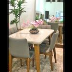 Conjunto Sala de Jantar 4 Lugares Orion - GMG Móveis