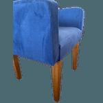 Poltrona Decorativa Verona Azul - Setec Móveis