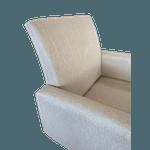Poltrona Decorativa Verona Marfim - Setec Móveis