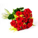 Buque Com 19 Rosas Vermelhas