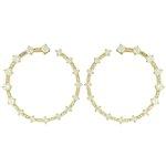 Brinco Zircônia Lesprit LB14241WGL Dourado Cristal