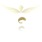Piercing de Pressão Zirconia Lesprit LB07901 Dourado Cristal