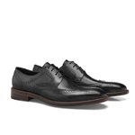 SAPATO MASCULINO BROGUE ELGIN BLACK