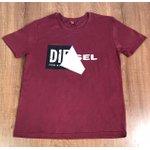 Camiseta Diesel - Vinho