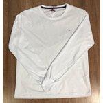 Camiseta Manga Longa Tommy Hilfiger - Branca