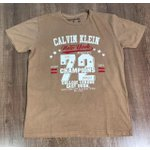 Camiseta Calvin Klein - Marrom Claro