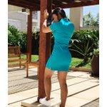Vestido Polo Ralph Lauren - azul turquesa