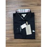 Camisa Xadrez Burberry - PRETA