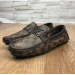 Mocassim Louis Vuitton Marrom