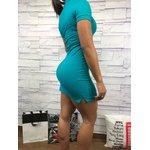 Vestido Calvin Klein - azul turquesa