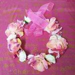 Coroa De Flores Pink