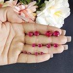Kit De Mini Brincos Grafite Pink