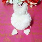 Chaveiro Gato Branco