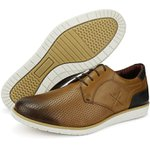 Sapato Casual Masculino Látego Cantarazo Derby Oxford Mr Light - 605 - Castor