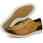 Sapato Casual Masculino Látego Cantarazo Derby Oxford Mr Light - 605 - Whisky
