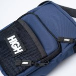 SHOULDER BAG HIGH LABEL NAVY