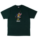 CAMISETA HIGH TEE GNOME NIGHT GREEN