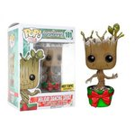 Guardians of the Galaxy - Holiday Dancing Groot Pop! Vinyl HOT TOPIC Exclusive