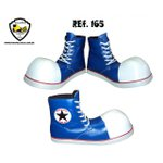 Sapato de Palhaço Clownstar Cano Alto Azul Ref 165 infantil
