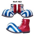 Sapato de Palhaço Listrado Cano Alto Infantil Ref 162