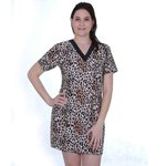 Camisola Adulto Estampada Animal Print