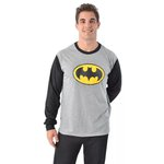 Pijama Adulto Inverno Batman