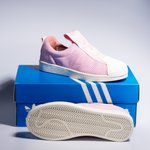 Tênis Adidas Superstar Slip-On BW - Rosa