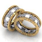 Aliança de Casamento Glamour (Pedido Especial, Helysmar)