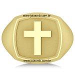 Anel de Ouro Masculino Santa Maria
