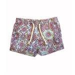 Arabesco Beach Verde Água - Shorts Infantil