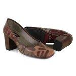 Sapato Em Couro Coffee J.Gean AR0154