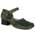 Sapato New Kelly em couro Musgo J.Gean